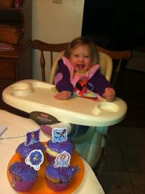 Sofia cupcakes