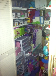 The toy closet