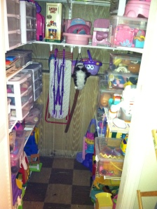 Toy closet - after