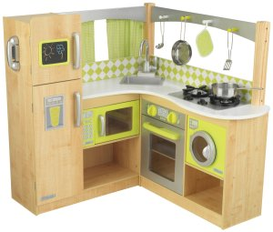KidKraft Green Corner Kitchen