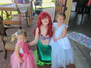 Story time with Ariel