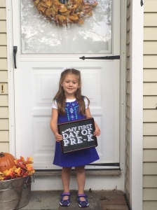Ella's First Day of Pre-K