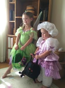 Tinkerbell Ella and Little Miss Ava Muffet