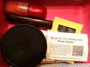 First Look At The Products - September 2014 Birchbox