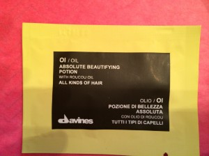 Davines Ol/Oil Absolute Beautifying Potion