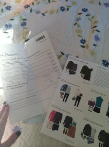 Stitch Fix Price List, Style Cards