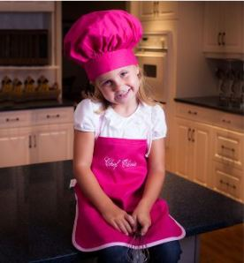 Personalized Chef's Hat and Apron
