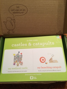 September Kiwi Crate Castles & Catapaults