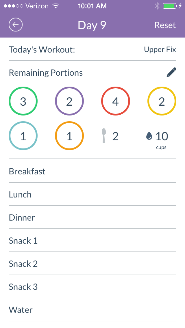 The free 21 Day Fix Tracker app gives you instant access to daily fitness and container tracking, food lists, and additional tools for success. Anyone can download the app onto their mobile devices to keep track of their progress with 21 Day Fix.