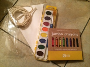 Watercolor Banner Supplies - Koala Crate