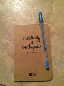 Doodle Crate Notebook and Pen