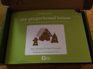 Kiwi Crate My Gingerbread House - First Look