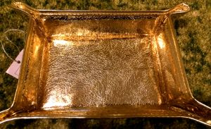 Stephanie Johnson Tinseltown Gold Jewelry Tray