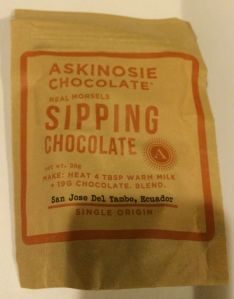 Askinosie Chocolate Sipping Chocolate
