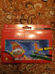Faber Castell Watercolor Crayons