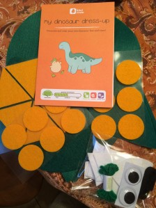 My Dinosaur Dress Up - Supplies