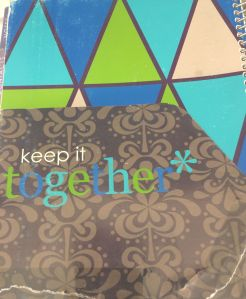 Erin Condren Life Planner - Torn Keep It Together Pocket