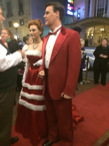 Cast Arrival White Christmas - Wang Theater Boston
