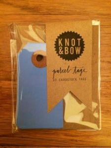 Knot and Bow Tags