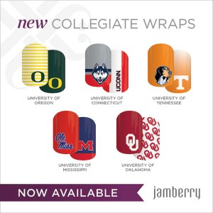 Jamberry Collegiate Wraps