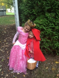 Sleeping Beauty and Red Riding Hood