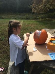 Painting Princess Pumpkins