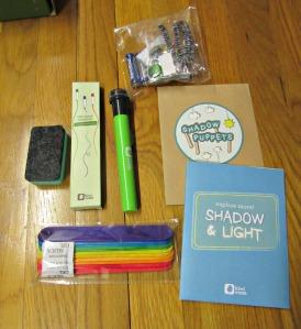 Kiwi Crate November 2015 Shadow and Light 2